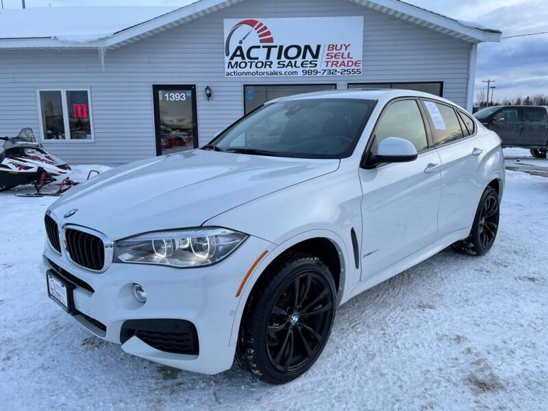 2019 BMW X6 for sale at Action Motor Sales in Gaylord MI
