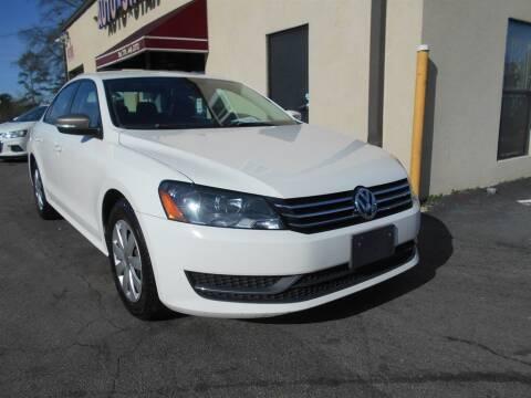 2013 Volkswagen Passat for sale at AutoStar Norcross in Norcross GA