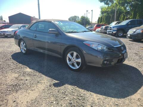 2007 Toyota Camry Solara for sale at Universal Auto Sales in Salem OR