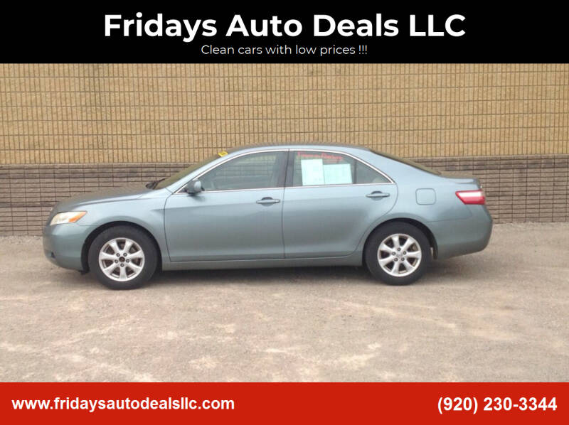 2007 Toyota Camry for sale at Fridays Auto Deals LLC in Oshkosh WI