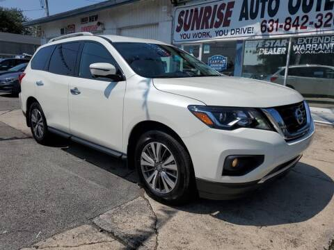 2017 Nissan Pathfinder for sale at Sunrise Auto Outlet in Amityville NY