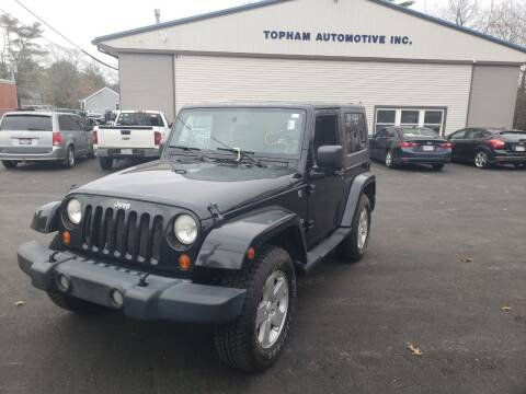 2007 Jeep Wrangler for sale at Topham Automotive Inc. in Middleboro MA