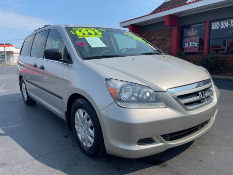 2006 Honda Odyssey for sale at Premium Motors in Louisville KY