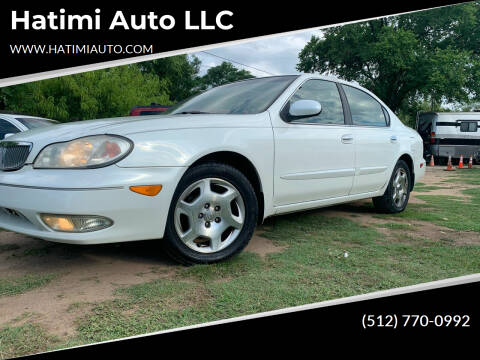 2001 Infiniti I30 for sale at Hatimi Auto LLC in Buda TX