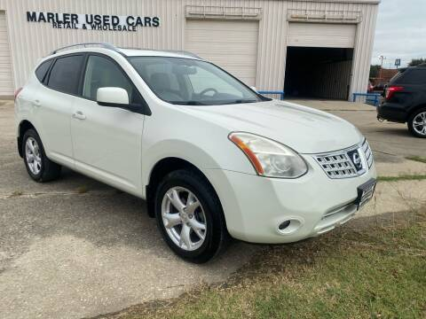 2009 Nissan Rogue for sale at MARLER USED CARS in Gainesville TX