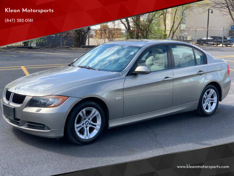 2008 BMW 3 Series for sale at Klean Motorsports in Skokie IL