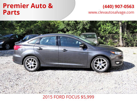 2015 Ford Focus for sale at Premier Auto & Parts in Elyria OH