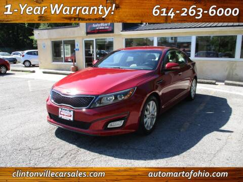 2015 Kia Optima for sale at Clintonville Car Sales - AutoMart of Ohio in Columbus OH