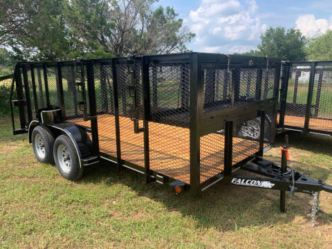 2021 FALCON 14' LANDSCAPE for sale at Trophy Trailers in New Braunfels TX