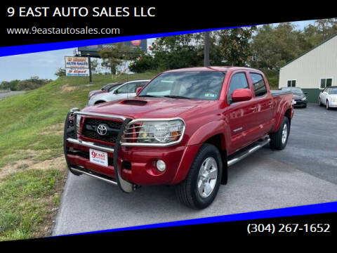 2011 Toyota Tacoma for sale at 9 EAST AUTO SALES LLC in Martinsburg WV