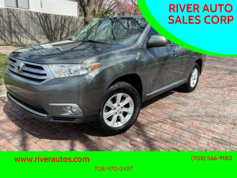 2012 Toyota Highlander for sale at RIVER AUTO SALES CORP in Maywood IL