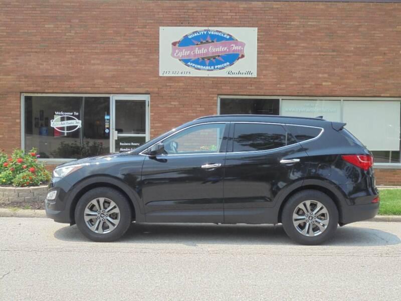 2016 Hyundai Santa Fe Sport for sale at Eyler Auto Center Inc. in Rushville IL