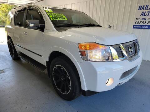 2012 Nissan Armada for sale at Bailey Family Auto Sales in Lincoln AR