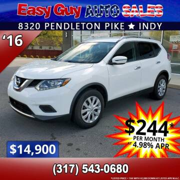 2016 Nissan Rogue for sale at Easy Guy Auto Sales in Indianapolis IN