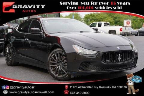 2015 Maserati Ghibli for sale at Gravity Autos Roswell in Roswell GA