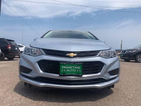 2017 Chevrolet Cruze for sale at Primetime Auto in Corpus Christi TX