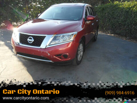 2015 Nissan Pathfinder for sale at Car City Ontario in Ontario CA