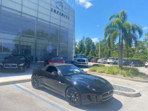 2014 Jaguar F-TYPE for sale at Infiniti Stuart in Stuart FL
