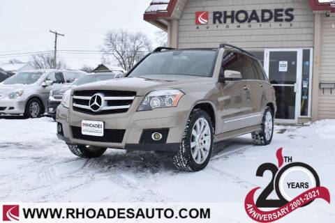 2010 Mercedes-Benz GLK for sale at Rhoades Automotive in Columbia City IN