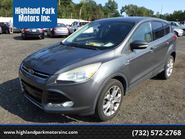2013 Ford Escape for sale at Highland Park Motors Inc. in Highland Park NJ