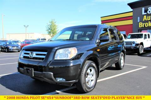 2008 Honda Pilot for sale at L & S AUTO BROKERS in Fredericksburg VA