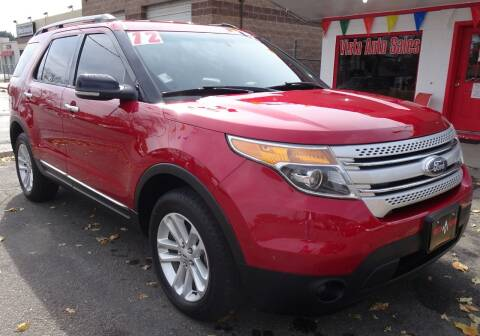 2012 Ford Explorer for sale at VISTA AUTO SALES in Longmont CO