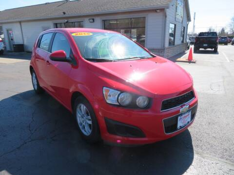 2015 Chevrolet Sonic for sale at Tri-County Pre-Owned Superstore in Reynoldsburg OH