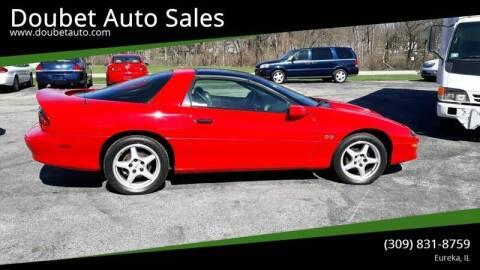 1996 Chevrolet Camaro for sale at Doubet Auto Sales in Eureka IL