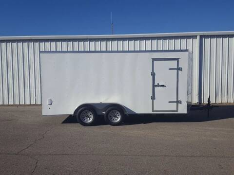 2020 SALVATION 7X16 Cargo Trailer for sale at Longhorn Motors in Belton TX