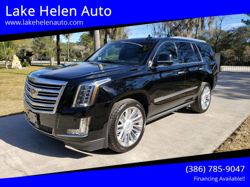2015 Cadillac Escalade for sale at Lake Helen Auto in Lake Helen FL