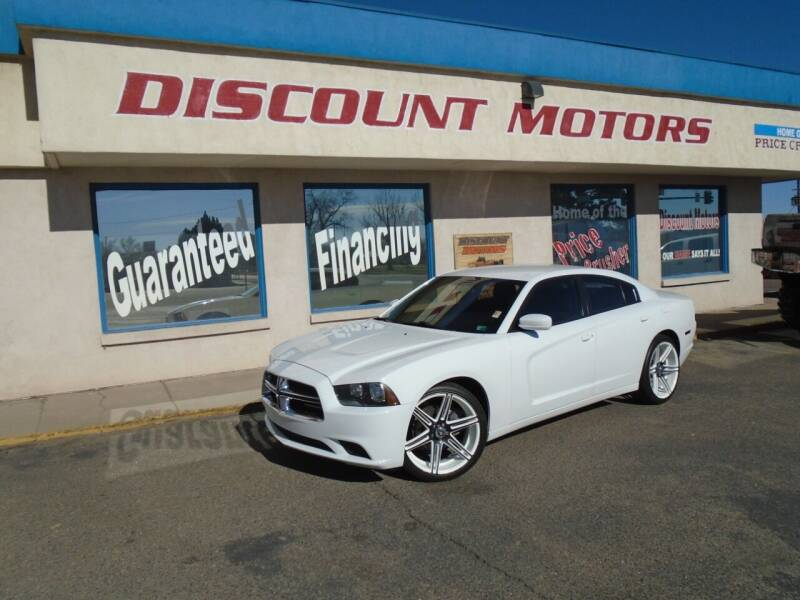 2014 Dodge Charger for sale at Discount Motors in Pueblo CO