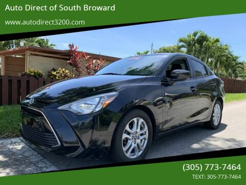 2017 Toyota Yaris iA for sale at Auto Direct of South Broward in Miramar FL