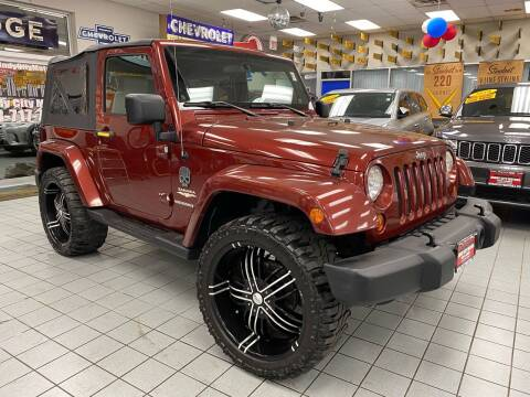 2007 Jeep Wrangler for sale at Windy City Motors in Chicago IL