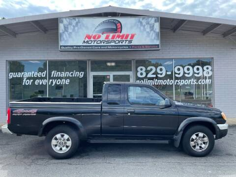 1999 Nissan Frontier for sale at NO LIMIT MOTORSPORTS in Belmont NC