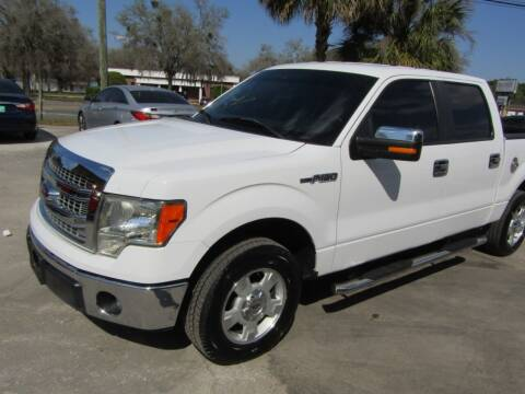 2013 Ford F-150 for sale at S & T Motors in Hernando FL