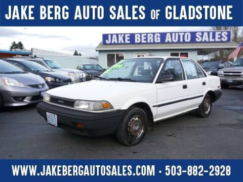 1991 Toyota Corolla for sale at Jake Berg Auto Sales in Gladstone OR