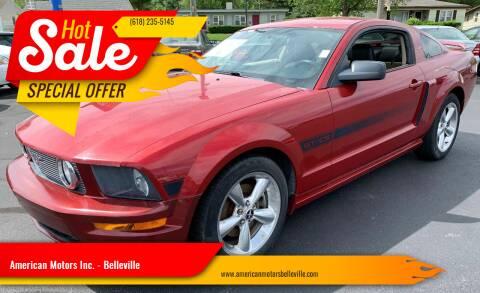 2008 Ford Mustang for sale at American Motors Inc. - Belleville in Belleville IL