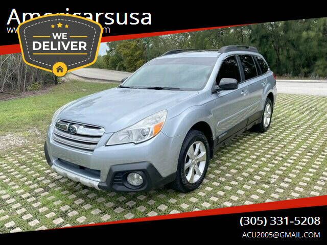 2013 Subaru Outback for sale at Americarsusa in Hollywood FL
