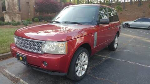 2006 Land Rover Range Rover for sale at MULTI GROUP AUTOMOTIVE in Doraville GA