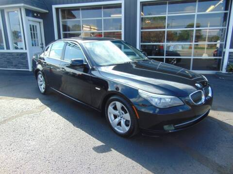 2008 BMW 5 Series for sale at Akron Auto Sales in Akron OH