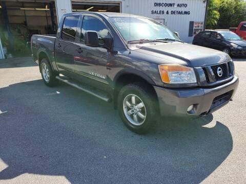 2009 Nissan Titan for sale at DISCOUNT AUTO SALES in Johnson City TN