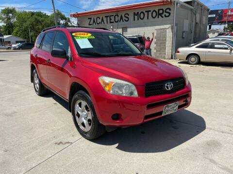 2007 Toyota RAV4 for sale at Zacatecas Motors Corp in Des Moines IA