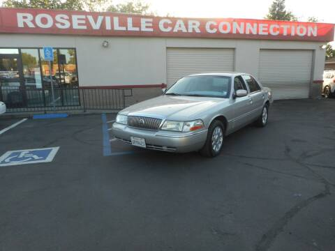 2005 Mercury Grand Marquis for sale at ROSEVILLE CAR CONNECTION in Roseville CA