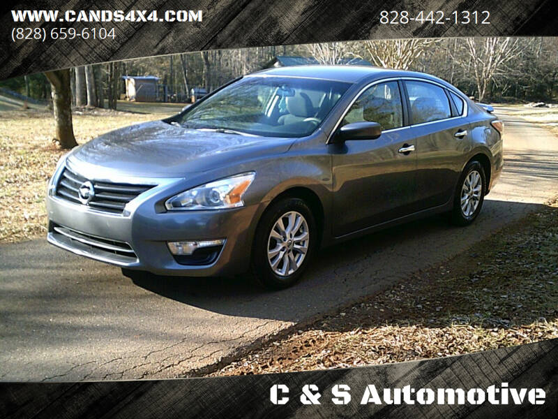 2014 Nissan Altima for sale at C & S Automotive in Nebo NC