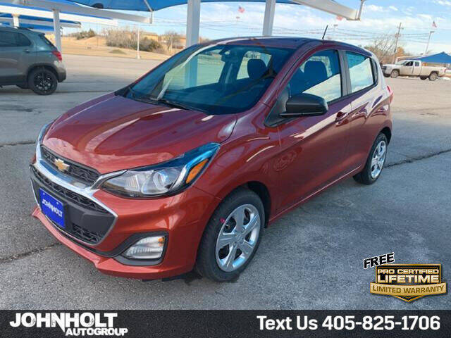 2021 Chevrolet Spark for sale at JOHN HOLT AUTO GROUP, INC. in Chickasha OK