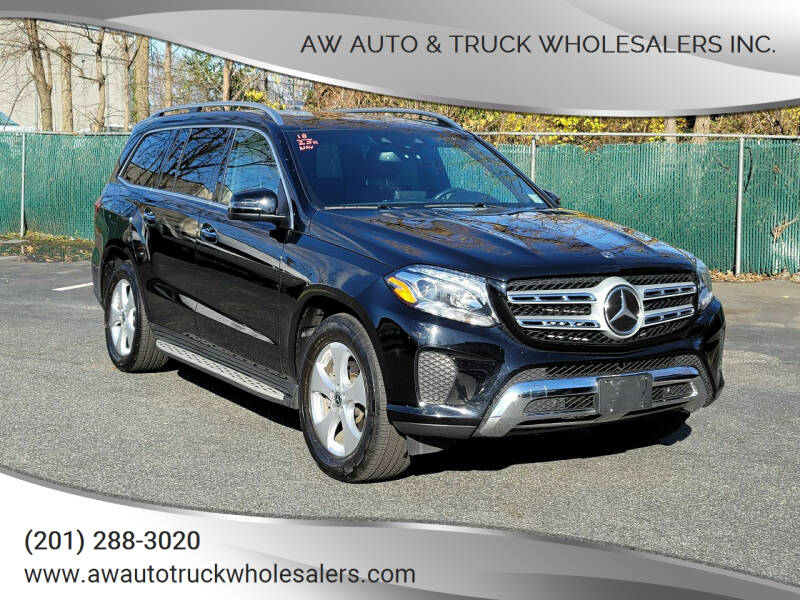 2018 Mercedes-Benz GLS for sale at AW Auto & Truck Wholesalers  Inc. in Hasbrouck Heights NJ