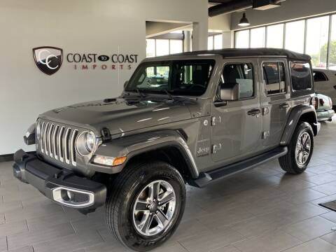 2018 Jeep Wrangler Unlimited for sale at Coast to Coast Imports in Fishers IN