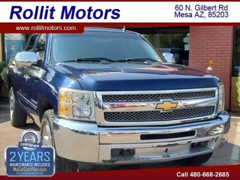 2012 Chevrolet Silverado 1500 for sale at Rollit Motors in Mesa AZ