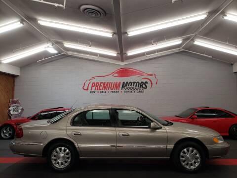 2000 Lincoln Continental for sale at Premium Motors in Villa Park IL