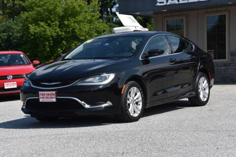 2016 Chrysler 200 for sale at Will's Fair Haven Motors in Fair Haven VT